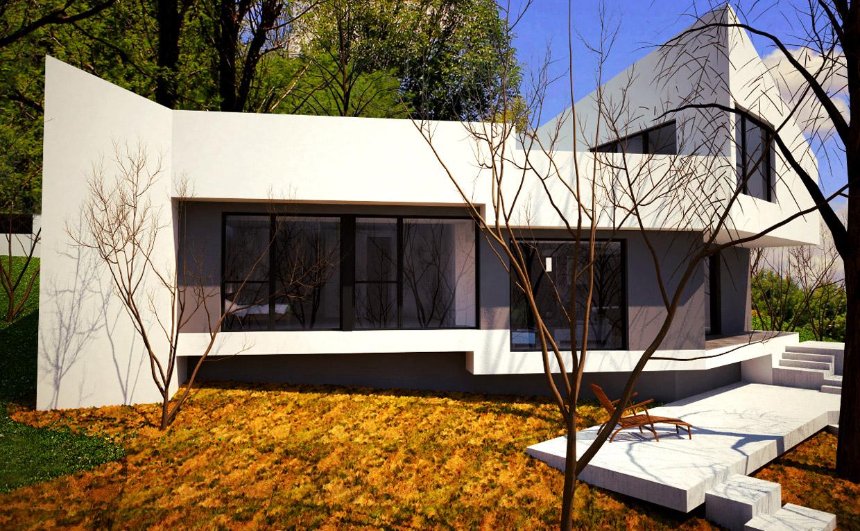 Casa moderna en el escorial m5 madehome for Casa moderna en el campo